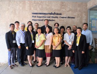 The eCDT Workshop convened more than 20 government officials and experts to share and exchange knowledge to advance traceability solutions for Thailand. Photo Credit: USAID Oceans/ K.Nitiwarangkul